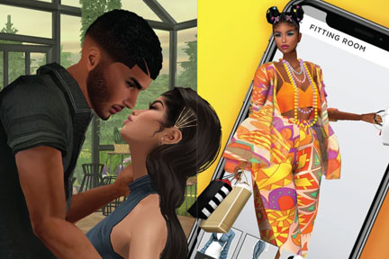 Videos, Social and App Store Images // IMVU